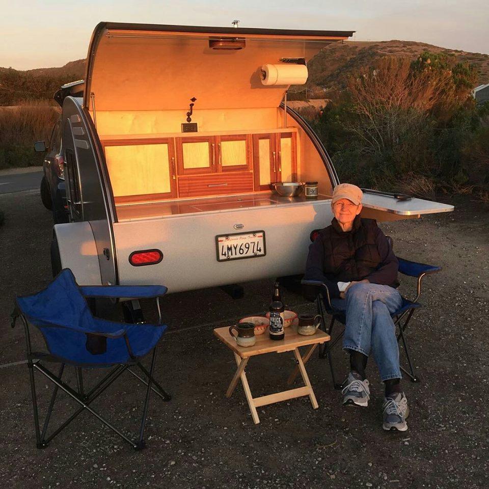 Take a Peek In This Awesome Oregon-Made Teardrop Trailer