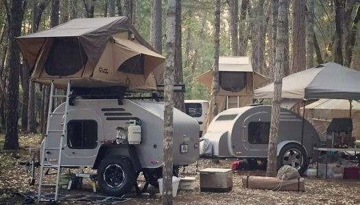 This Perfect Teardrop Trailer Is Made in Oregon, And You're Going To Want One