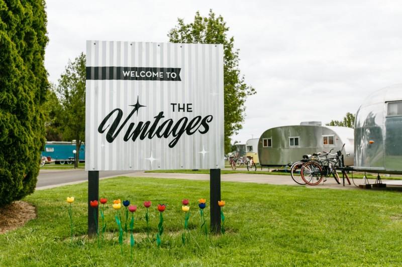 Vintage Trailer Resort >> This Vintage Trailer Resort in Oregon Will Take You Back in Time | That Oregon Life