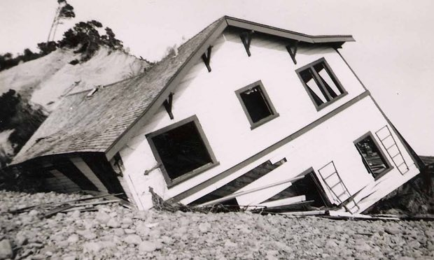 Bayocean: gone. Photograph: Tillamook County Pioneer Museum
