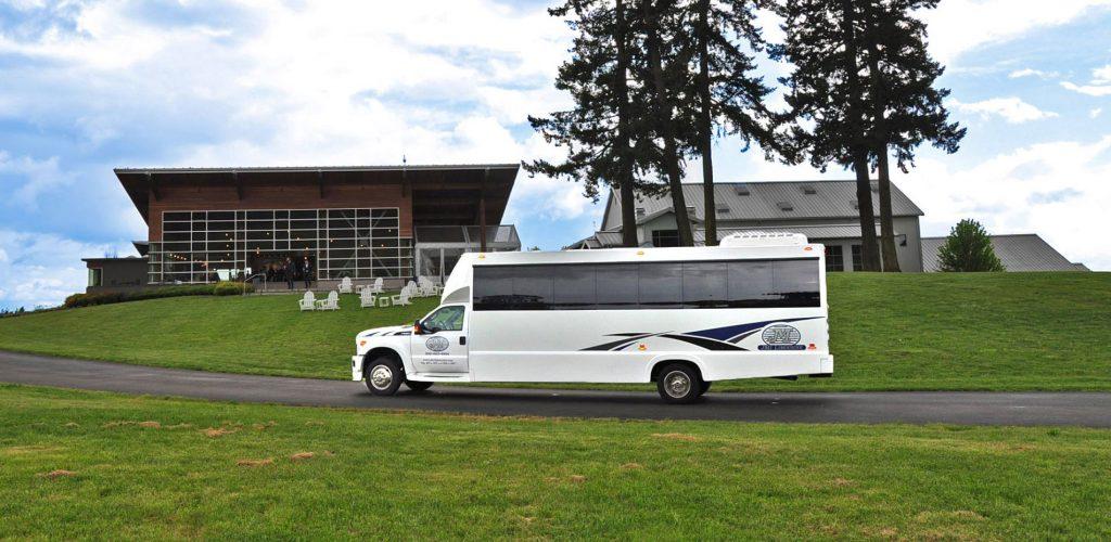 Portland limo bus