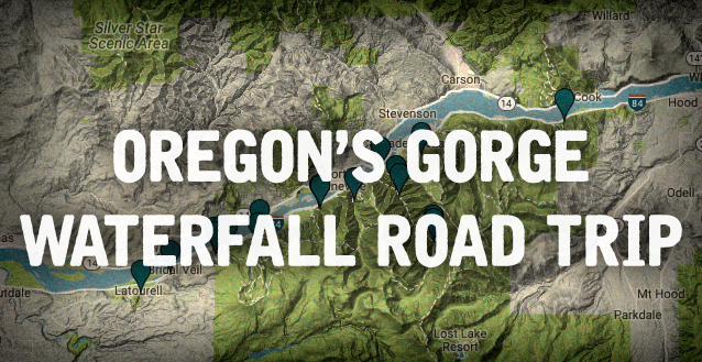 Oregon 39 s gorge waterfall road trip is out of this world for Oregon free fishing day 2017