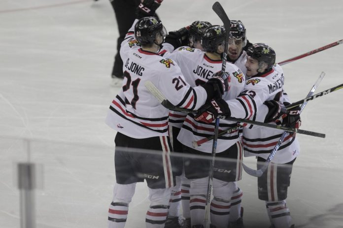 Portland Winterhawks Hockey Win