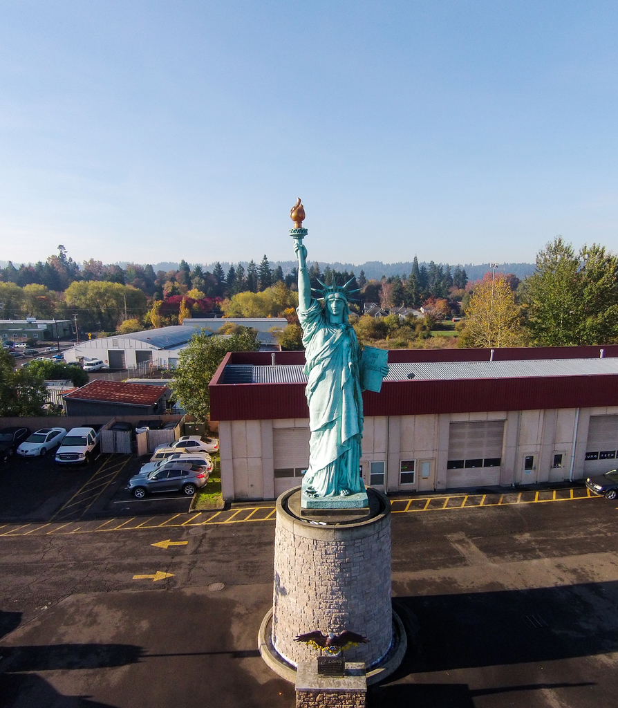 Statue of Liberty Model in Oregon