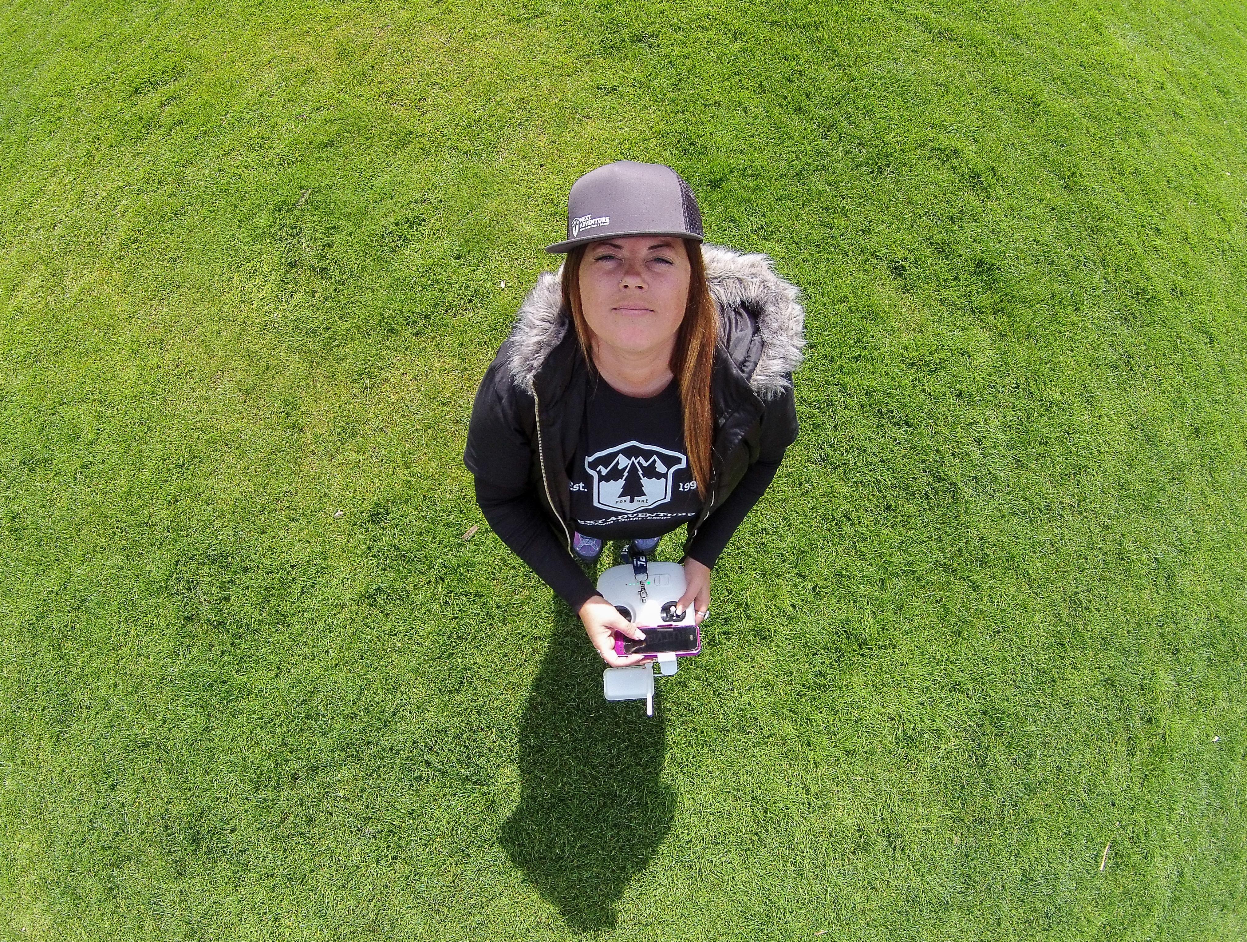 Oregon Woman Selfie