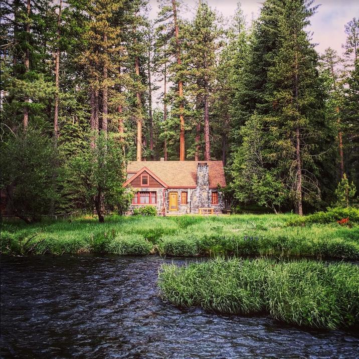 Camp Sherman Cabin