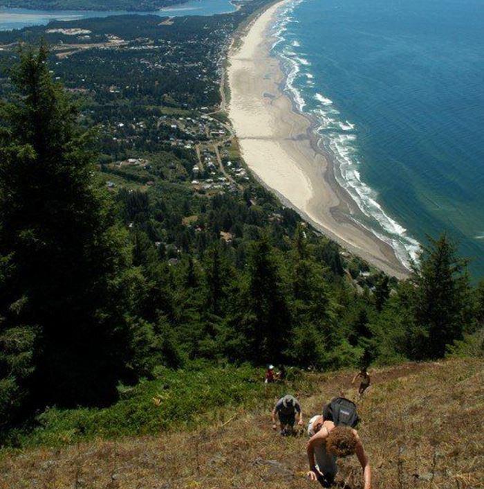 Hike Neah-Kah-Nie Mountain