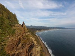 Manzanita Beach Oregon Coast