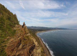 Manzanita Beach Oregon Coast