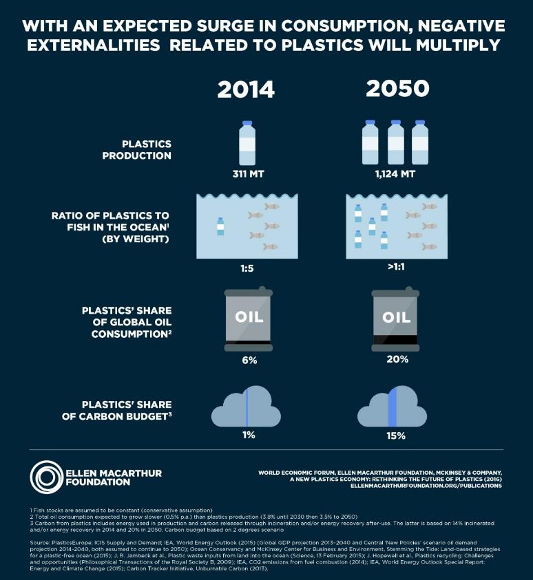 More Plastic in the Ocean Than Fish by 2050