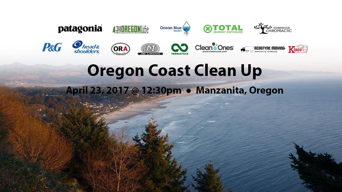 Oregon-Beach-Clean-Up Event - Manzanita Beach Oregon