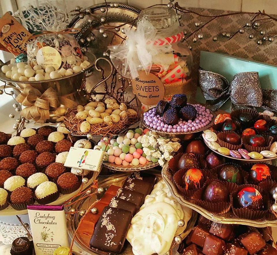 Oregon Chocolate Shop in Manzanita Oregon
