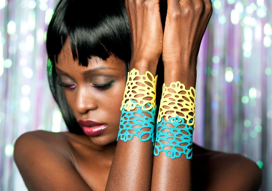 Recycled Rubber Jewelry - Urban Lace Portland Oregon