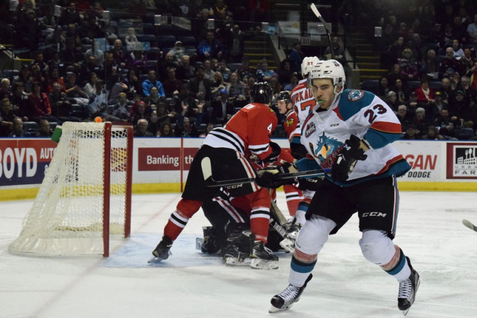 Winterhawks Lose Game 2 to Rockets