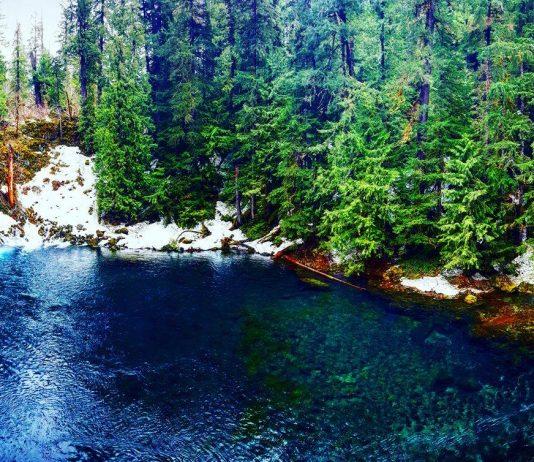 Blue Pool Oregon
