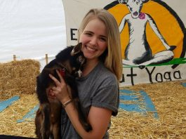 Goat Yoga with Baby Goats in Oregon