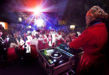 Oregon Adult Red Dress Party
