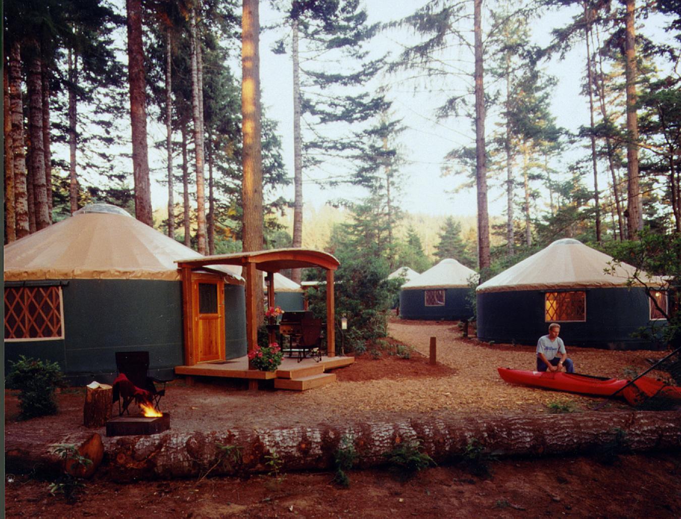 Zach Corb Flickr Yurts