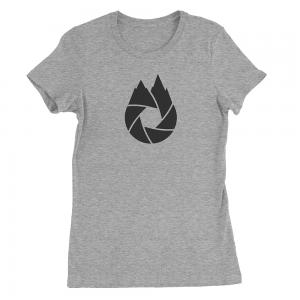 Black-That-Oregon-Life-Capture-Logo-Womens-Tee-Shirt-Heather-Grey-1