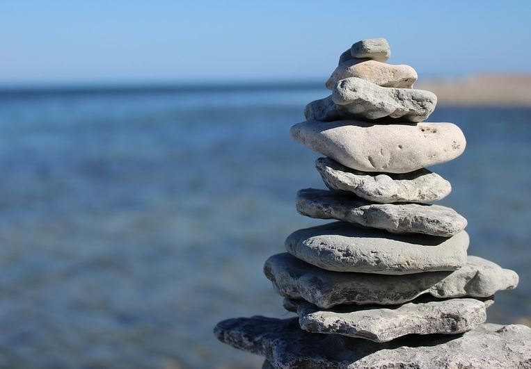 How to Meditate Rock Pile