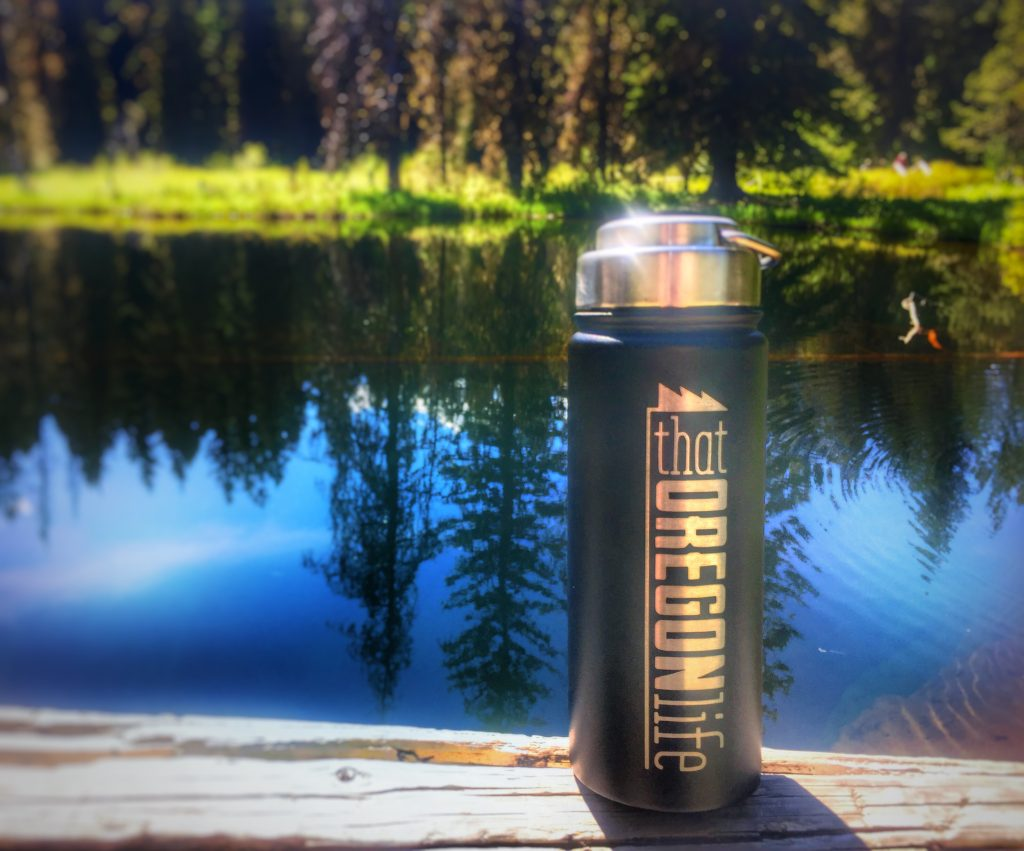 Little Crater Lake That Oregon Life Bottle