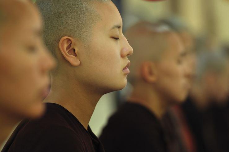 Meditating in Silence
