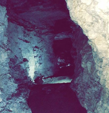 Spooky Oregon Caves Stairs