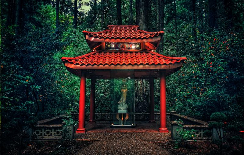 The Grotto Garden