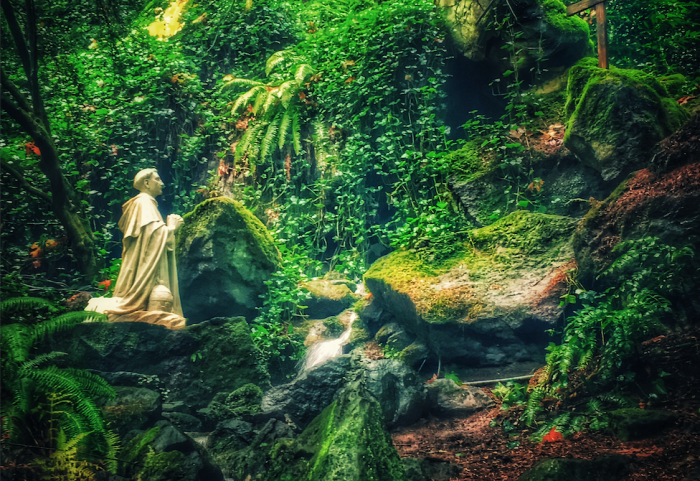 The Grotto Statue