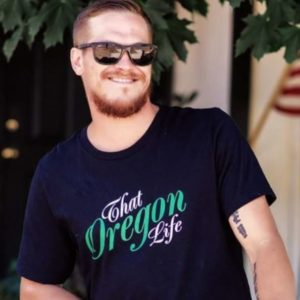 That Oregon Life Script Tee Men's