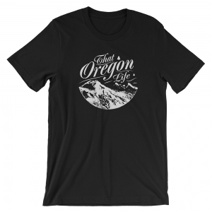 White-That-Oregon-Life-Three-Sisters-Mens-Tee-Shirt-Black-1