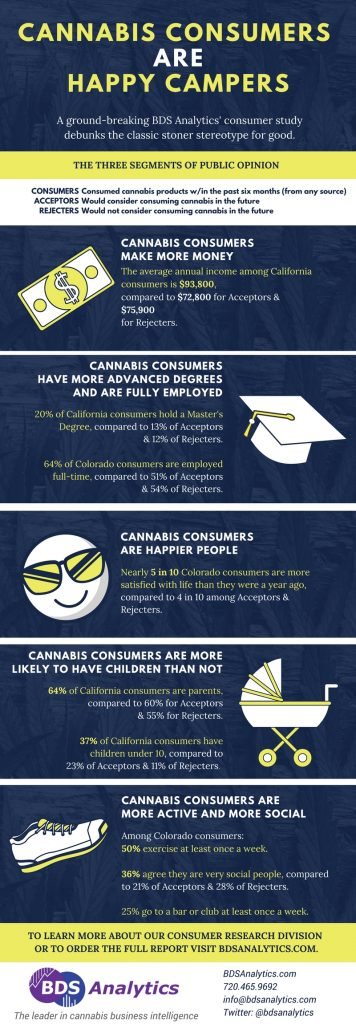 Cannabis User Study Infographic