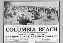 Columbia Beach Portland Oregon