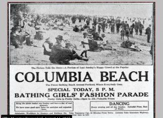 Columbia Beach Portland Oregon