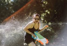Epic Portland Water Gun Fight
