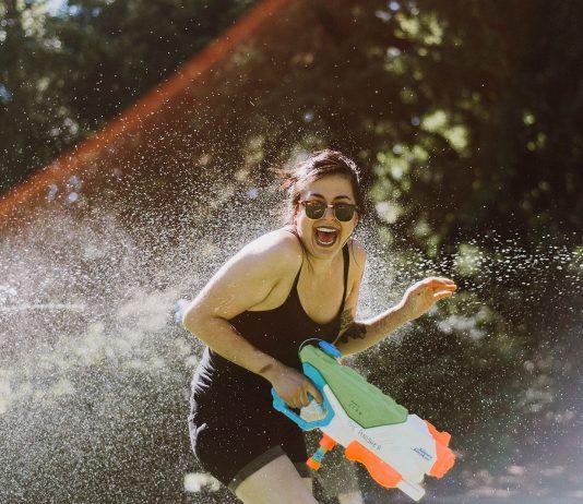Epic Portland Water Gun Fight