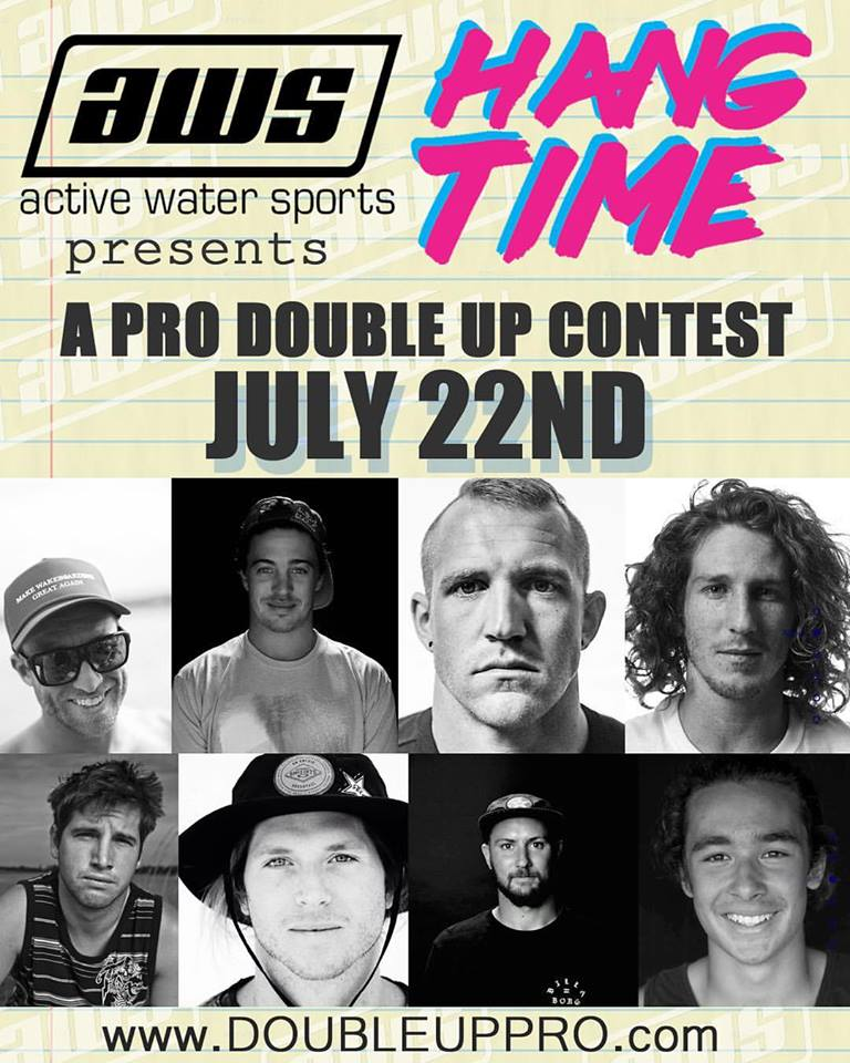 HANG TIME PRO Double Up Wakeboard Contest