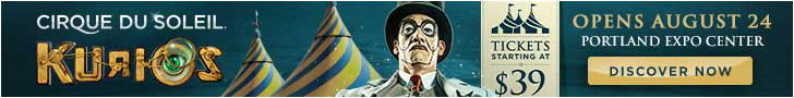 Kurios Cirque du Soleil Tickets Portland
