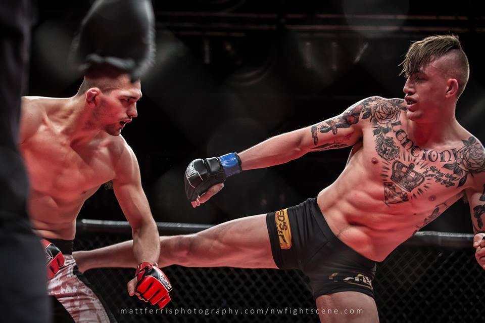 oregon mma fighter knocks out competition that oregon life