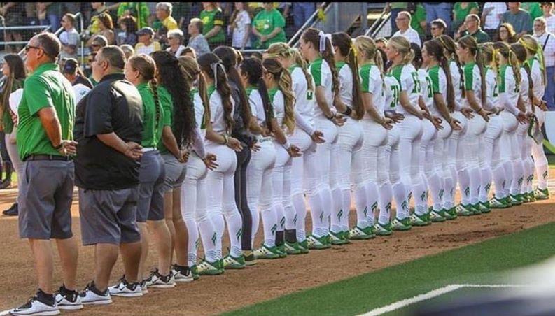 Oregon Women's Softball Team