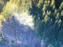 fire gorge oregon 2017