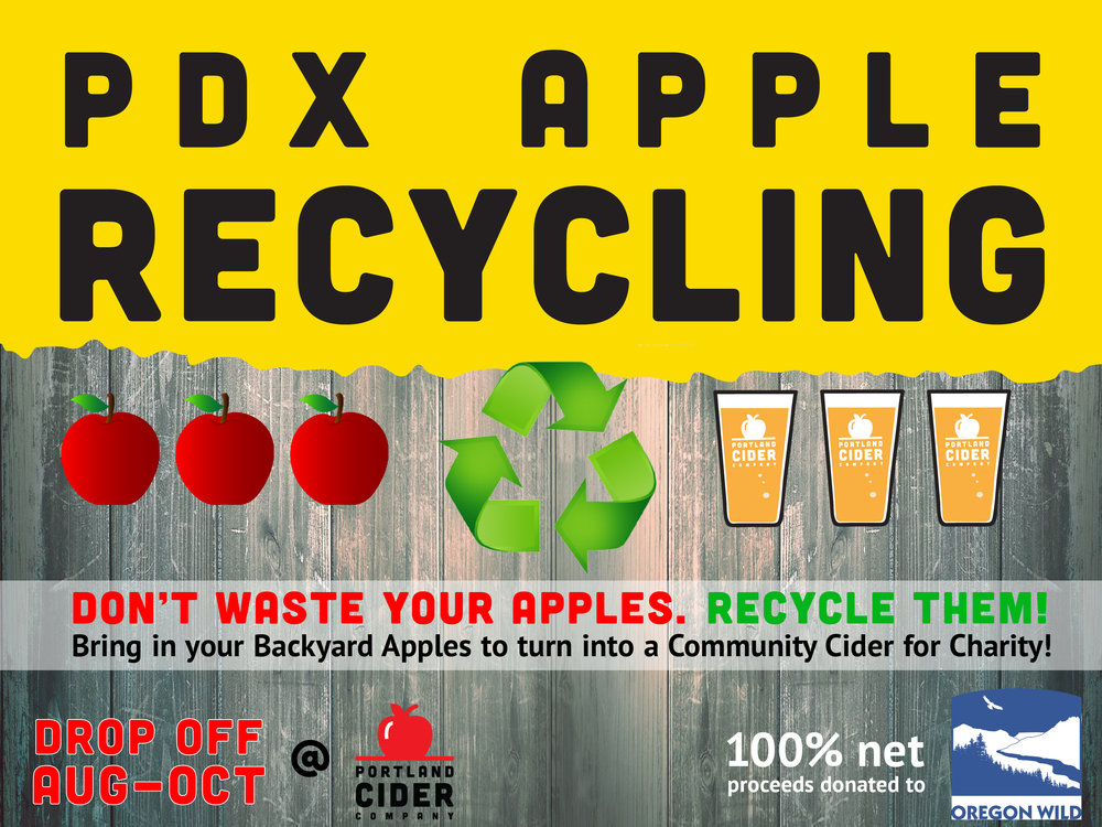 Apple Recycling – Portland Cider Company