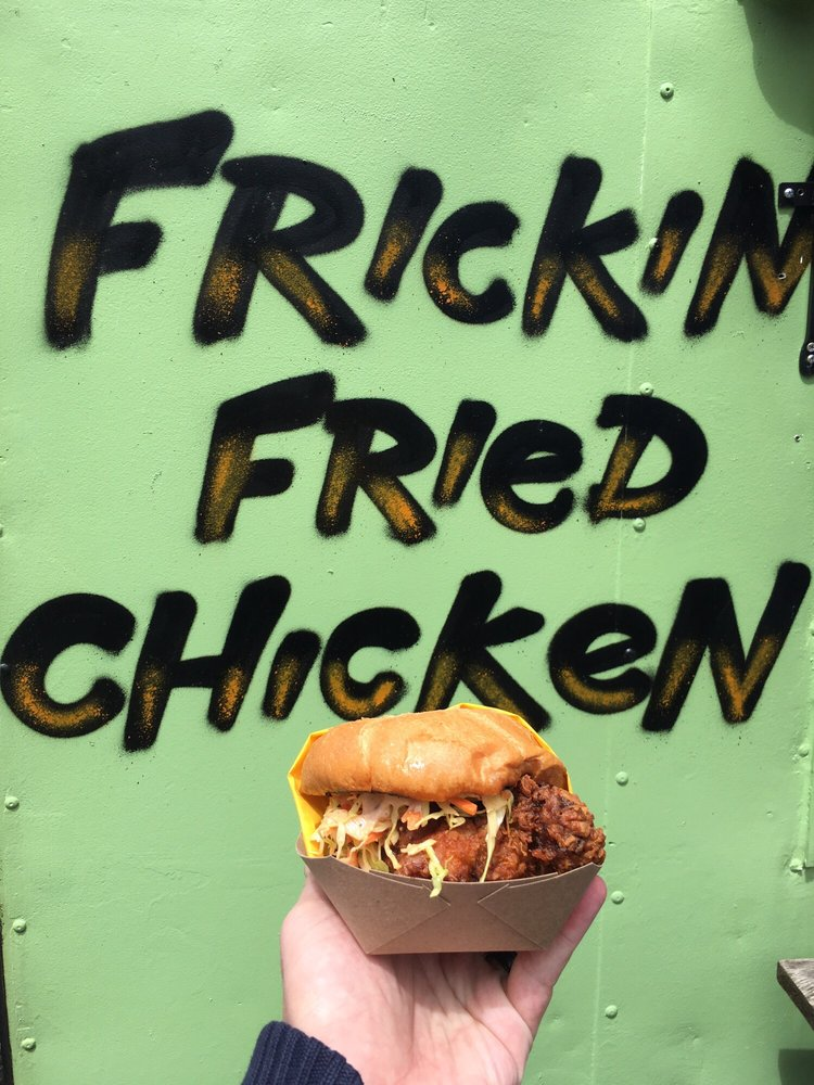 Frickin Fried Chicken Food Cart Saint Johns Portland Oregon