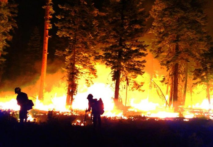 Oregon Wildfires Burn Across State of Oregon