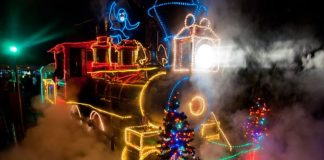 Christmas Light Limo Tours Portland Oregon 1