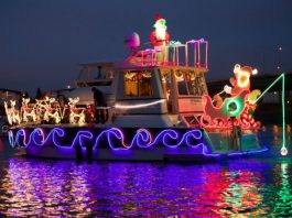 Christmas Ship Parade in Portland Oregon