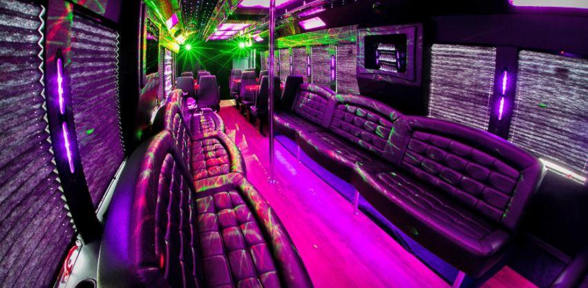 JMI Limousine Portland Oregon Party Bus Christmas Light Tours