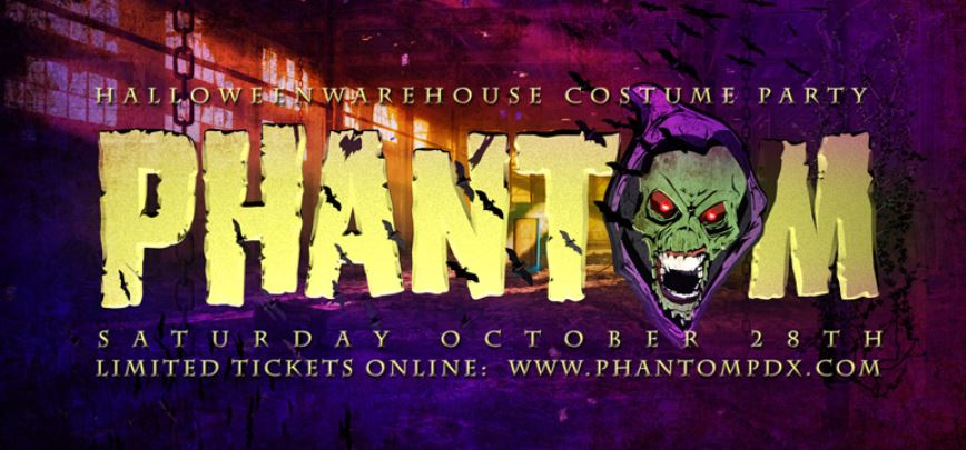 Phantom PDX Halloween Costume Party 2017