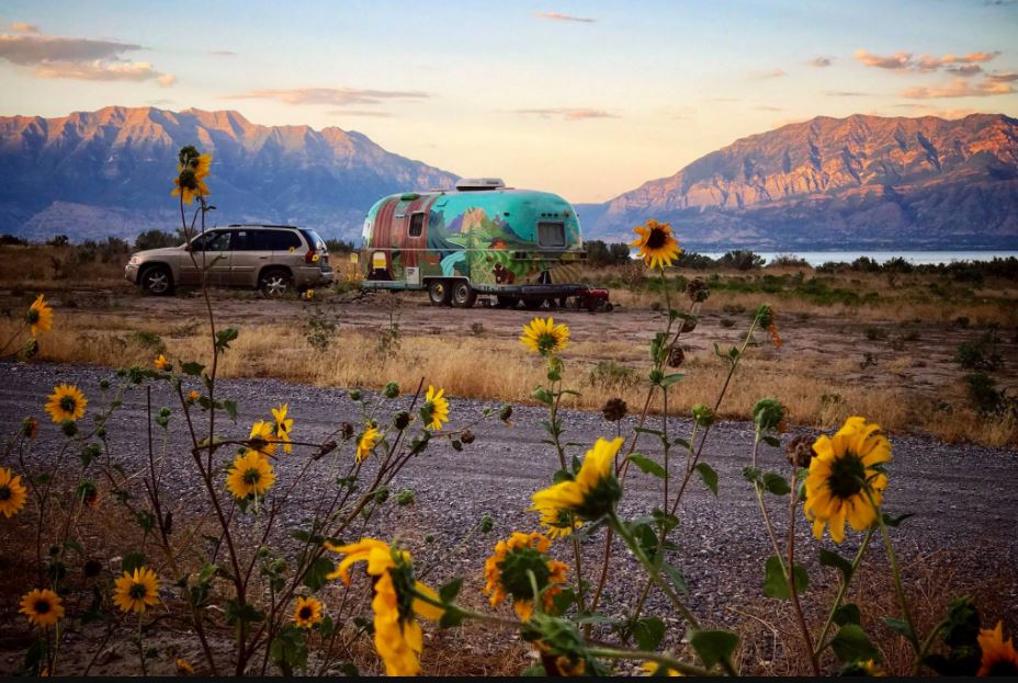Living in an Airstream RV in Oregon