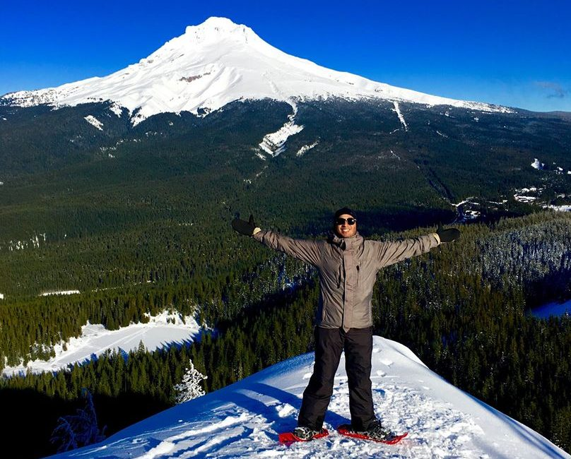 Oregon Active Snowshoeing